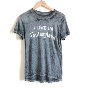"DisneyParks ""I Live in Fantastyland"" Tee"